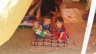 Flüchtlingshilfe Erbil, Nordirak August 2013