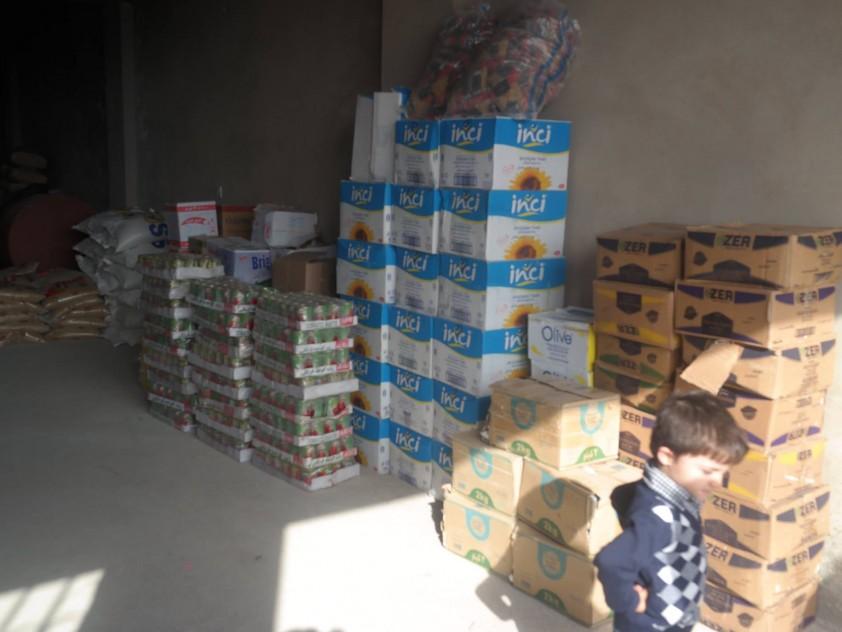 Flüchtlingshilfe Sersink, Nordirak Dezember 2014