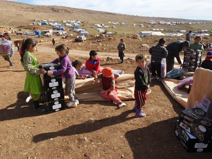 Nothilfe Shingal, Irak Januar 2015