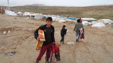 Flüchtlingshilfe Nordirak Januar 2015