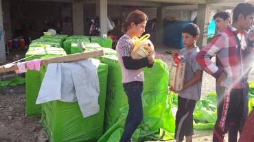 Flüchtlingshilfe Nordirak September 2014