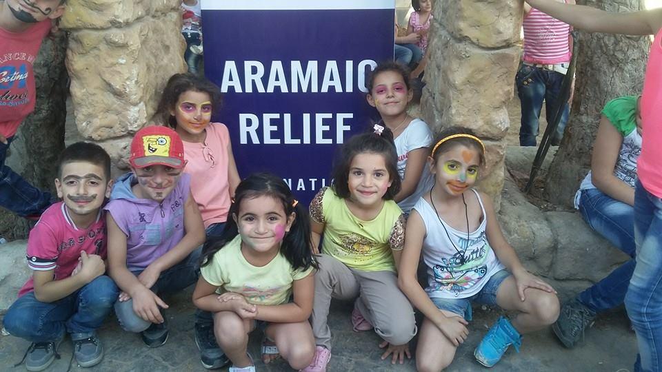 Fun-Camp 3 Tage Spiel, Spass und Unterhaltung für 200 Kinder in Syrien, Sept. 2015