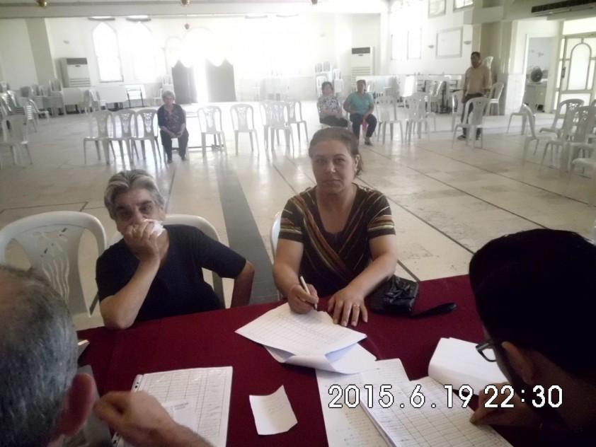 Hilfsprojekte für intern deplatzierte Familien in Homs, Syrien, Jun-Aug 2015