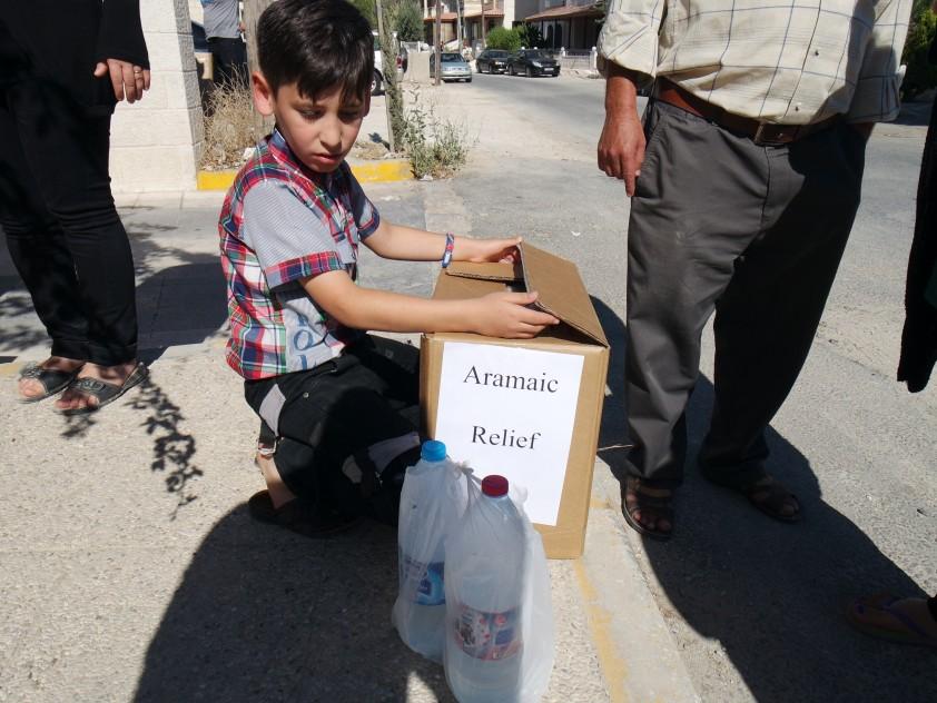 Hilfseinsatz für Flüchtlingsfamilien in Amman, Jordanien, Juli 2015