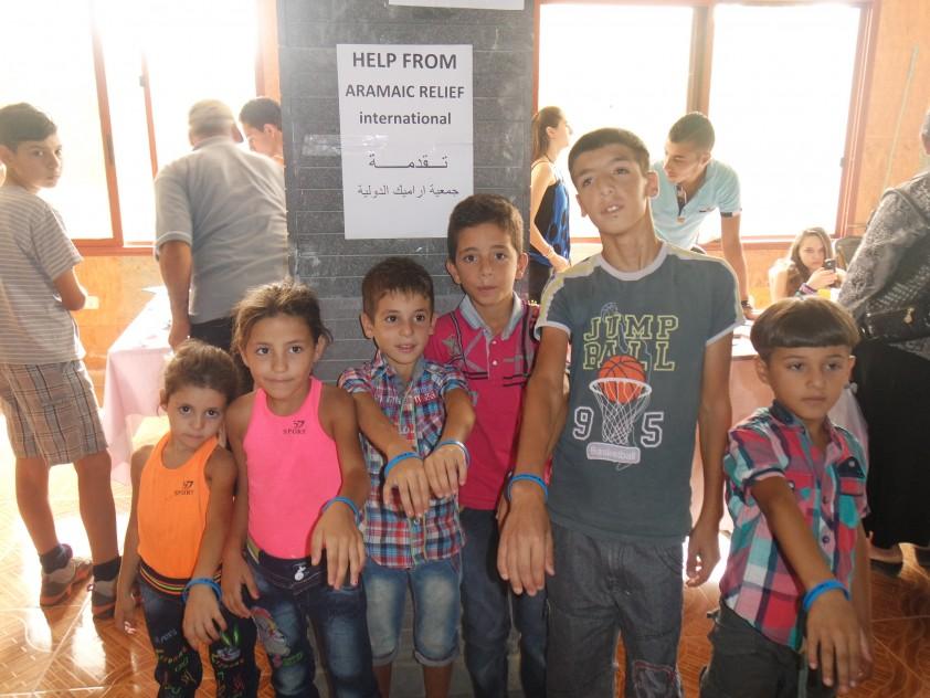 Humanitäre Hilfsprojekte in Homs, Syrien und Umgebung September 2015