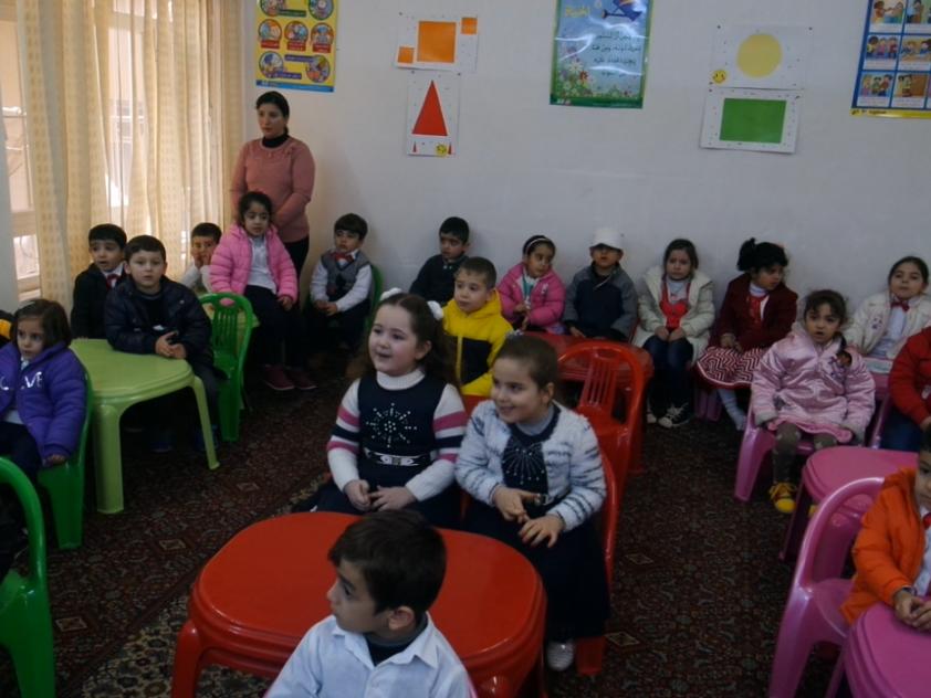 Eröffnung unseres ersten Kindergartens in Erbil, KRG Nordirak für ca. 150 Kinder
