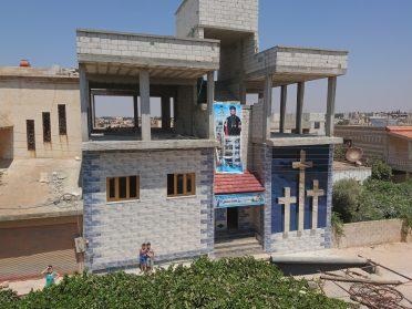 ERÖFFNUNG UNSERER ERSTEN SCHULE IN HOMS, SYRIEN AUG 2017