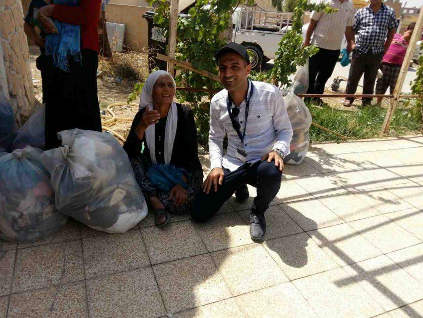 10 Tonnen Schweizer Hilfsgüter für Rückkehrfamilien in der Ninive-Ebene, Irak