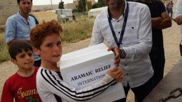 Lebensmittelverteilungen für 700 vertriebene Familien im Nordirak, Mai 2018