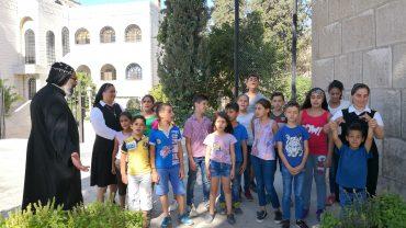 WAISENKINDERPROJEKT IN DAMASKUS, SYRIEN – JULI 2018