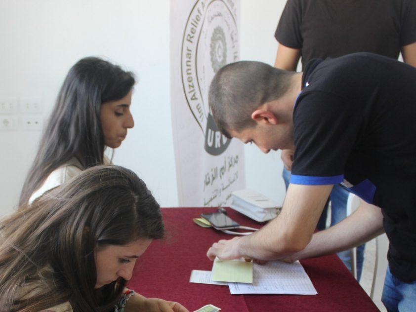UNTERSTÜTZUNG MIT STIPENDIEN FÜR 665 STUDENTEN IN SYRIEN