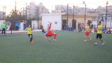Sport baut Brücken, Fussballturnier in Homs, Syrien, Oktober 2018