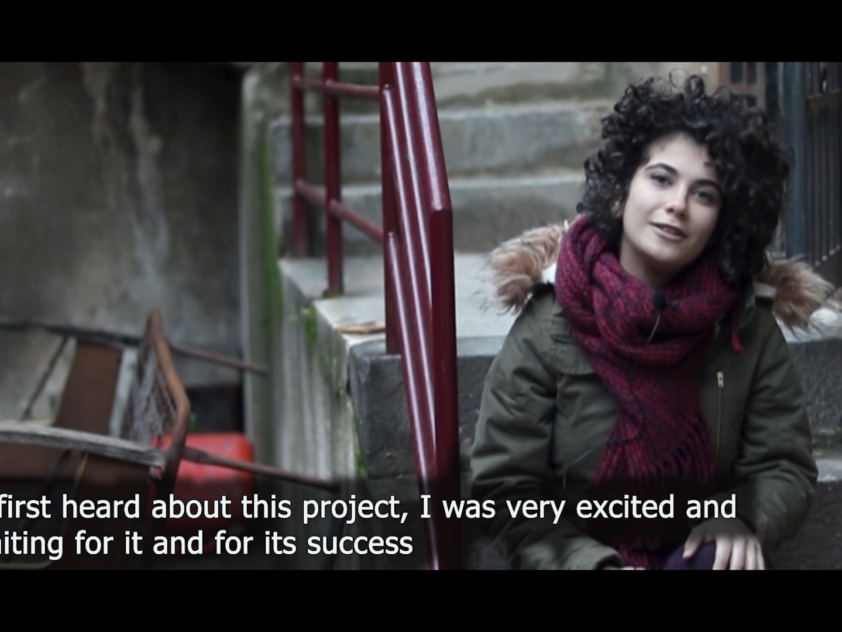 "VIDEO ""HARMONY"" Kunstzentrum in Homs, Syrien"