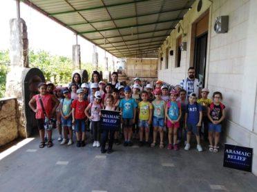 ERÖFFNUNG UNSERER SOMMERSCHULE 2019 IN HOMS, SYRIEN