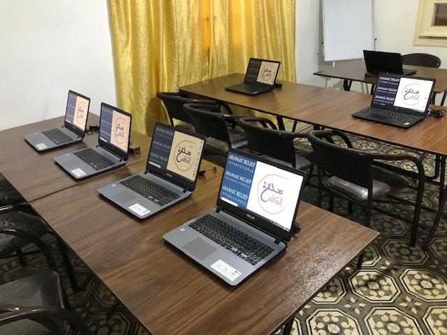 Eröffnung unseres neuen Bildungszentrums in Latakia, Syrien, Aug 2019