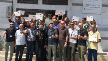 Hilfe zur Selbsthilfe Projekt in Homs, Syrien, Aug 2019 – Teil 1