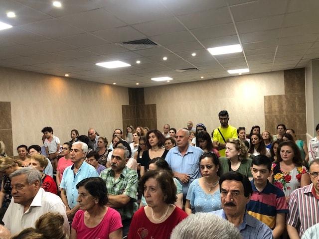 Eröffnung des neuen Zentrums für psychologische Betreuung in Aleppo, Syrien