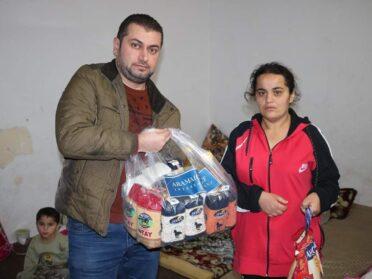 Lebensmittelverteilungen für Familien und Waisenkinder im Nordirak, Dez 2019
