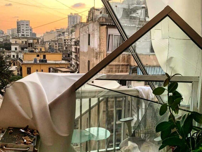 Renovationsprogramm die Opfer der Explosion in Beirut, August & September 2020